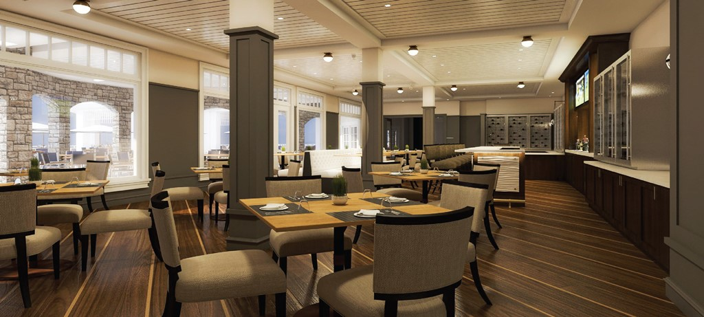 Renovation Countdown to Completion: The Grille Room