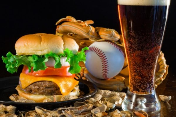 Sports bar food