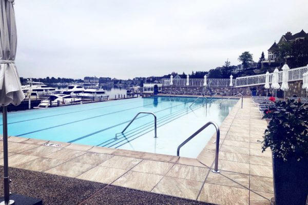 The Aquatics Center