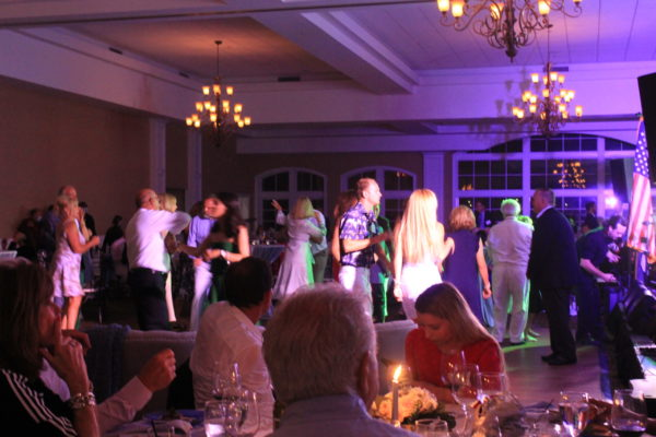 Members on the Dance Floor