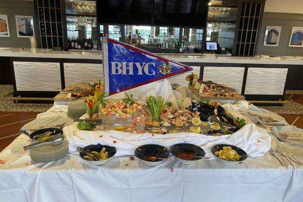 Seafood Display Eaten