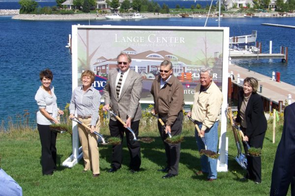 Lange Center Groundbreaking Ceremony
