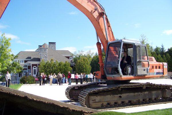 GM Kathleen Muneio Kicking Off the Lange Center Construction